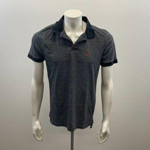 U.S. Polo Assn. Men`s Slim Fit Grey Collared Tee